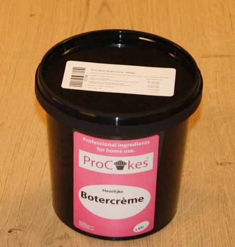 ProCakes Botercreme in pastavorm 1 kg