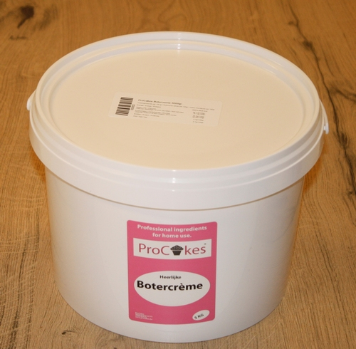 ProCakes Botercreme in pastavorm 5 kg