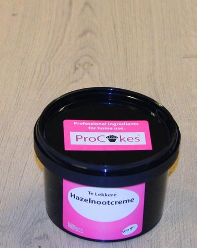 ProCakes Hazelnootcreme in pastavorm 500 gr.