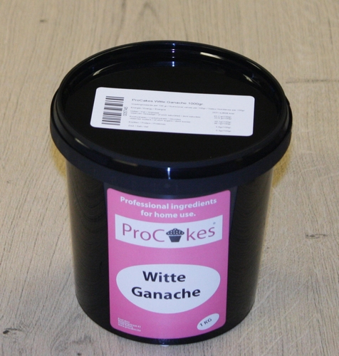 ProCakes Witte Ganache 1 kg