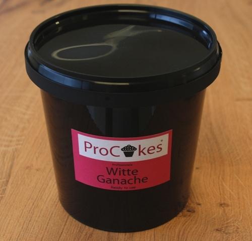 ProCakes Witte Ganache 6 kg